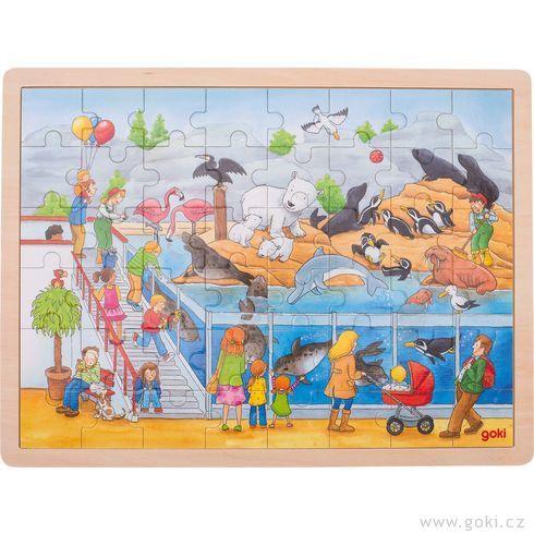 Puzzle – Výlet doZOO, 48dílů - Goki