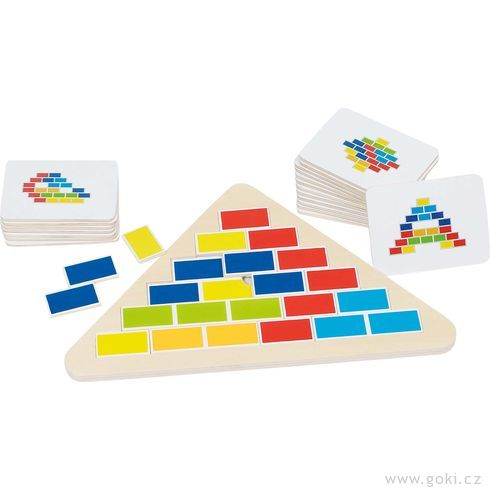 Logická hraCihličky - Goki