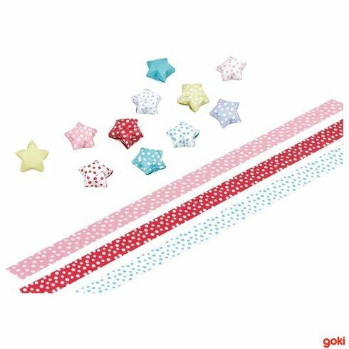 Papírové hvězdičky, 100dílů - Goki