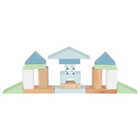 Stavební kostky – Lifestyle modrá - Goki