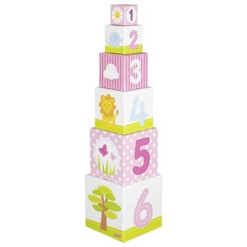 Krabičková věž Afrika, 6dílů - Goki