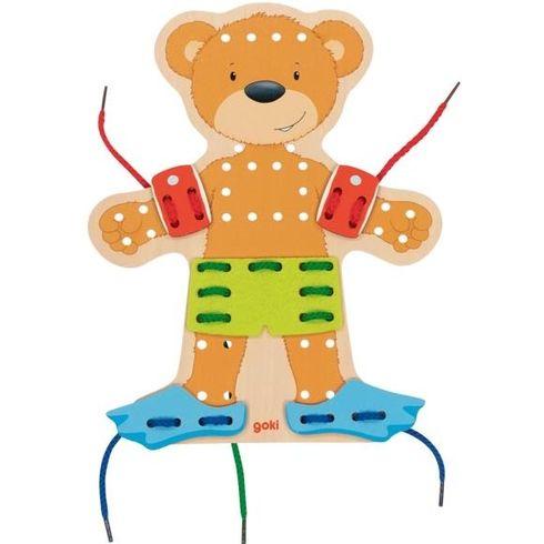 Provlékací postavička –medvídek, 54díly - Goki