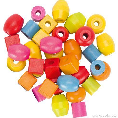 Provlékací hračka – korálky - Goki