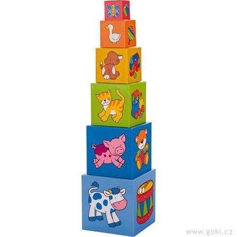 Krabičková věž, 6dílů - Goki