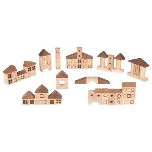 Stavební kostky – Město, 70dílů - Goki