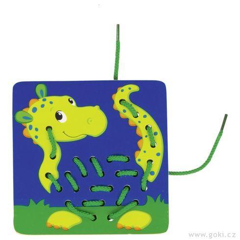 Provlékací hračka – zvířátka, 10dílů - Goki