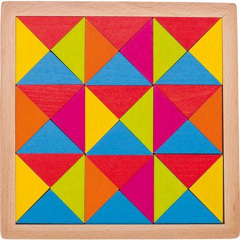 Skládačka duhová mozaika, 36dílů - Goki