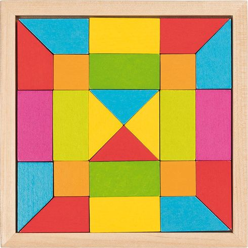 Skládačka mozaika – duha, 24díly - Goki