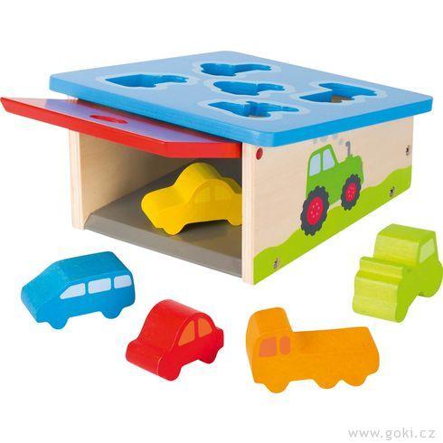 Vkládačka garáž sautíčky - Goki