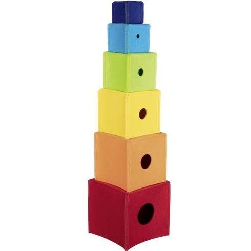 Duhová krabičková věž zfilce, 6dílů - Goki
