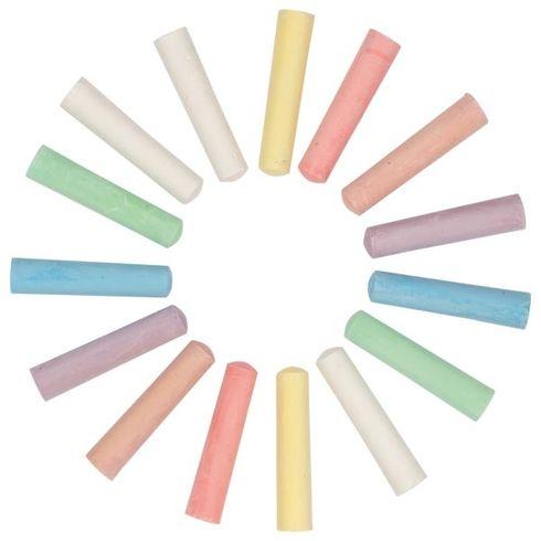 Chodníkové barevné kulaté křídy, Peggy Diggledey, 15ks - Goki