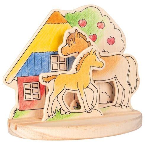 Koníci  – obrázek kvymalování, 4díly - Goki