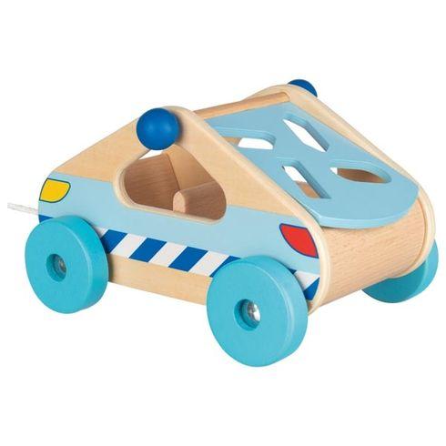 Vkládačka – autíčko našňůrce - Goki