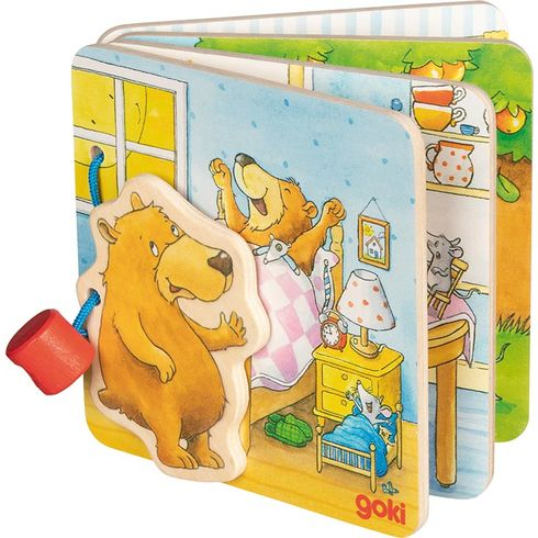 Malý medvídek – knížečka sobrázky pronejmenší - Goki