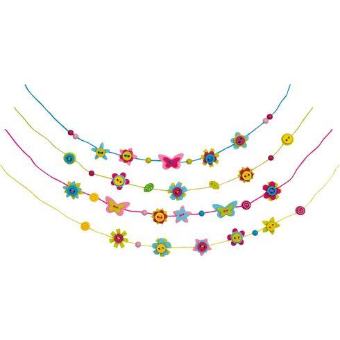 Filcové šperky – kreativní dílnička, 121dílů - Goki