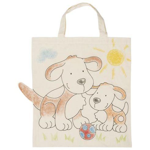 Bavlněná taška kvymalování – Pejsci - Goki