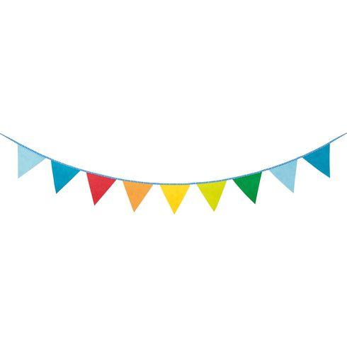Duhové vlaječky – kreativní slavnostní dekorace, 121dílů - Goki