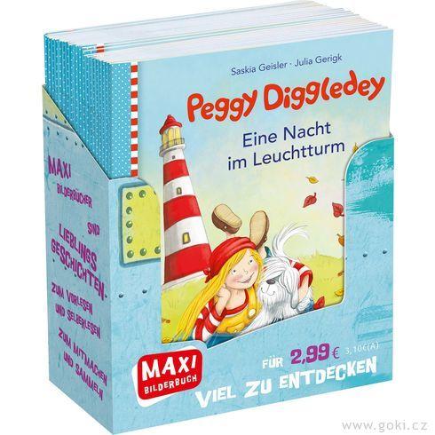 Maxi obrázková knížka Peggy Diggledey - Goki