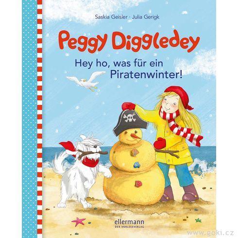 Knížka proděti Peggy Diggledey – Hejhou, tojepirátská zima! - Goki