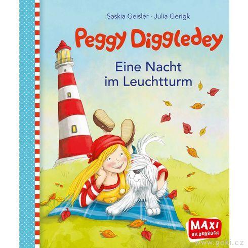 Maxi obrázková knížka Peggy Diggledey – Nocvmajáku - Goki