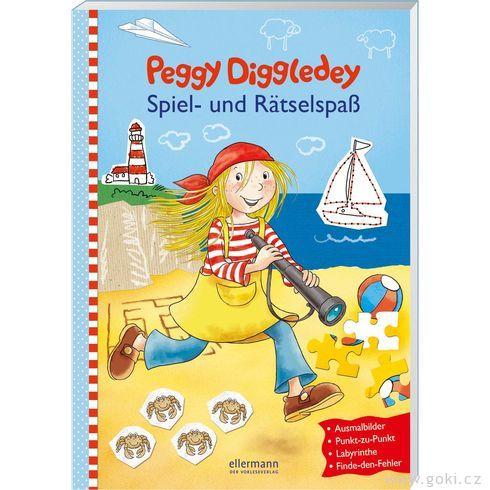Zábavná knížka Peggy Diggledey – hryahádanky - Goki