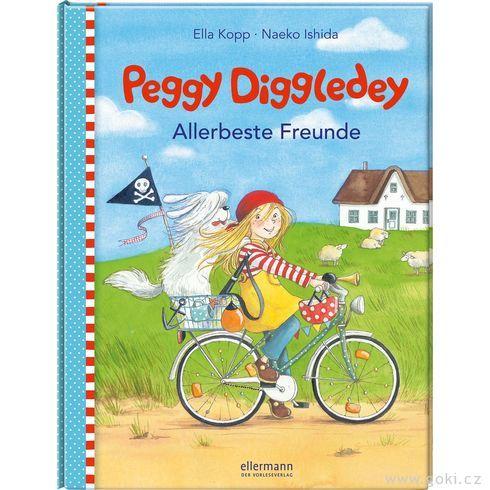 Obrázková knížka Peggy Diggledey – Nejlepší přátelé - Goki