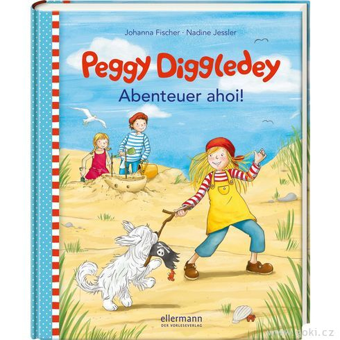 Knížka proděti Peggy Diggledey – Dobrodružství AHOJ! - Goki