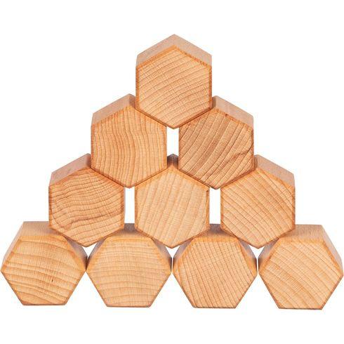 Přírodní stavení kostky ošetřené olejem zvlašských ořechů - Goki