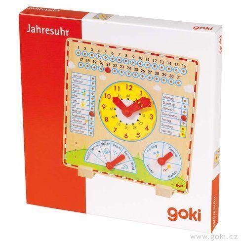 Celoroční výukové hodiny vněmčině - Goki