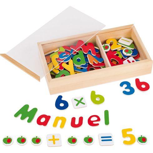 Magnetky – čísla apísmena - Goki
