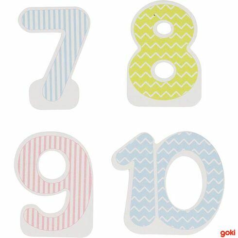 Narozeninová čísla 7–10 - Goki