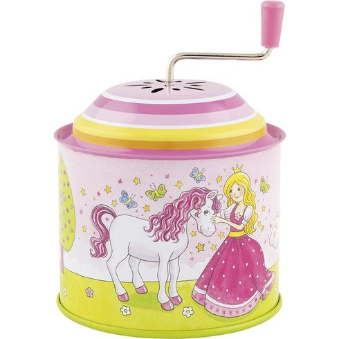 Princezna – hrací skříňka skličkou, melodie: Twinkle Twinkle Little Star - Goki