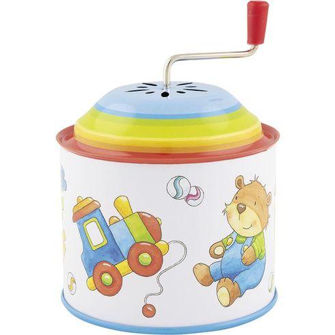 Hračky – hrací skříňka skličkou, melodie: ToySymphony - Goki