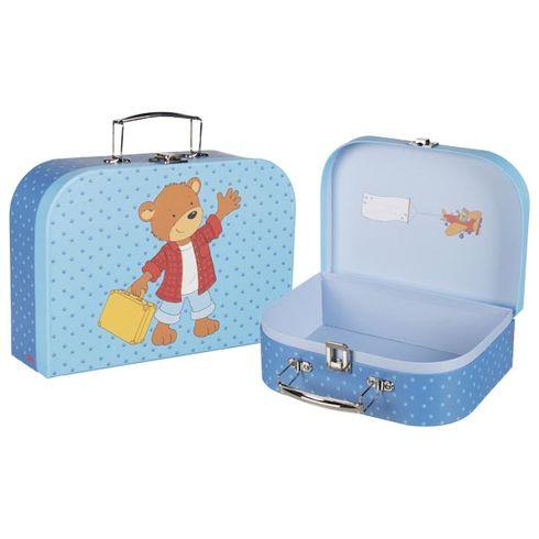 Kufřík medvídek cestovatel, set2ks - Goki