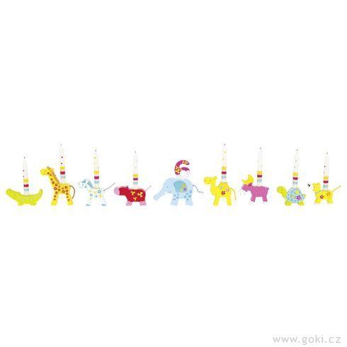 Narozeninová dekorace – zvířátka Susibelle - Goki