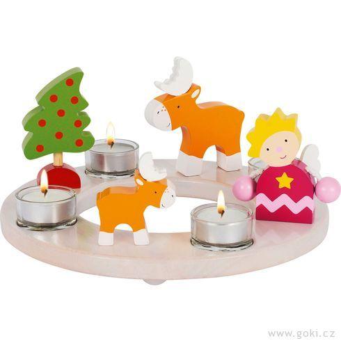 Slavnostní dekorace Velikonoce +Vánoce - Goki