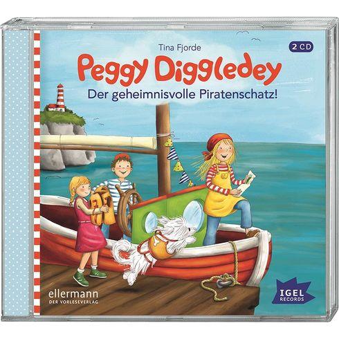 Audiokniha Peggy Diggledey – Tajuplný pirátský poklad - Goki
