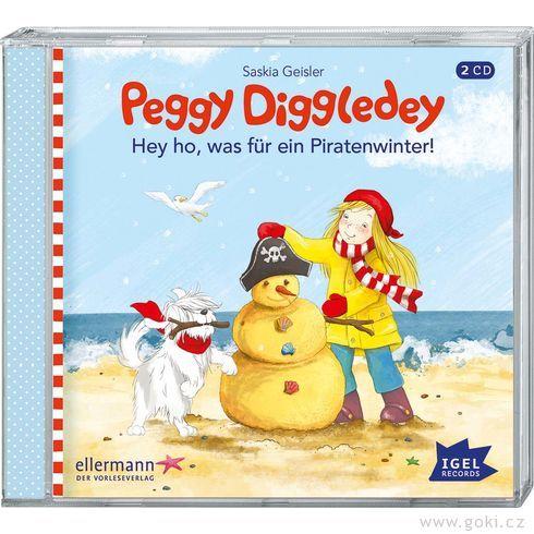 Audiokniha Peggy Diggledey – Hejhou, tojepirátská zima! - Goki