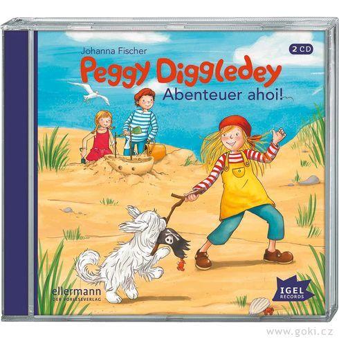 Audiokniha Peggy Diggledey – Dobrodružství AHOJ! - Goki