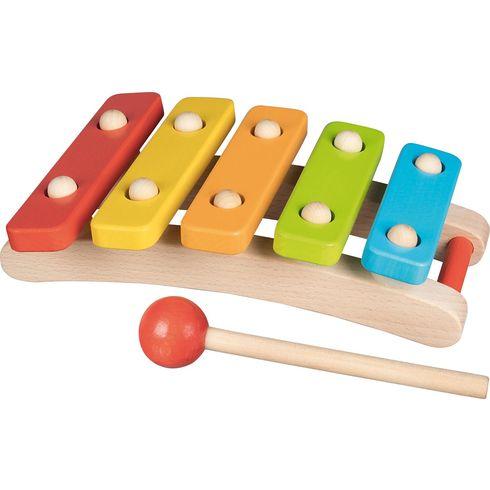Barevný xylofon, 5tónů - Goki