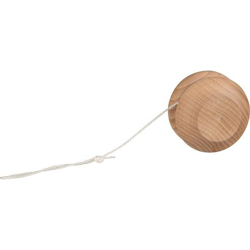 Dřevěné jojo zbukového dřeva přírodní – 5cm - Goki