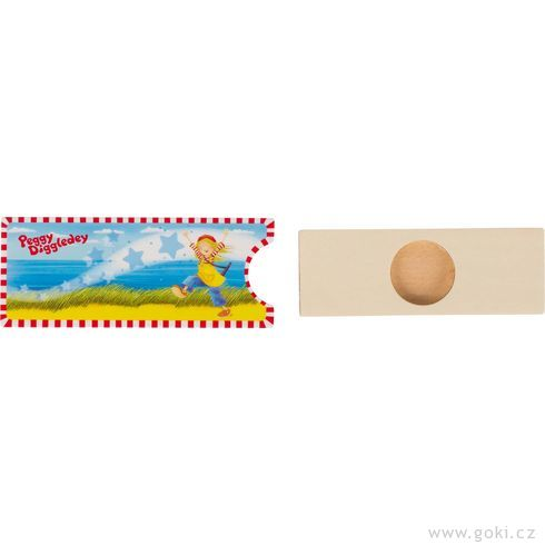 Kouzelná zásuvka smincí Peggy Diggledey - Goki