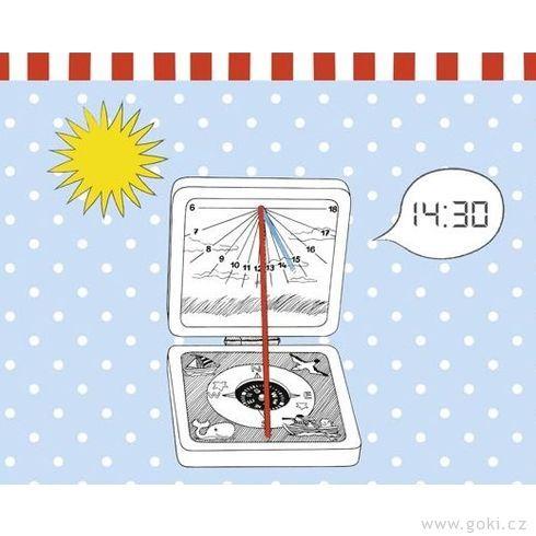 Kapesní sluneční hodiny, Peggy Diggledey - Goki