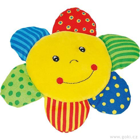 Dětská látková hračka sluníčko probatolata - Goki