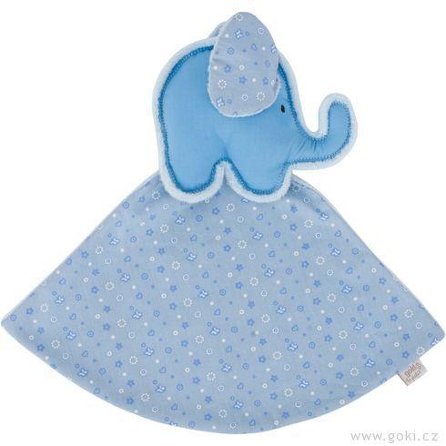 Slůně – modrý mazlíček usínáček - Goki