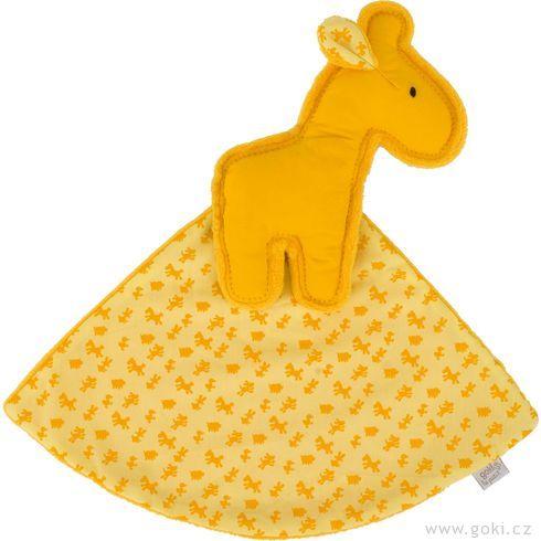 Žirafa – žlutý mazlíček usínáček - Goki