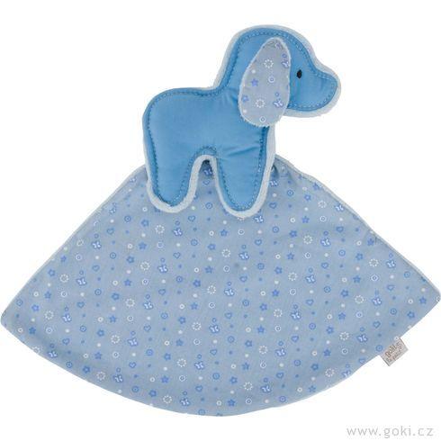 Pejsek – modrý mazlíček usínáček - Goki