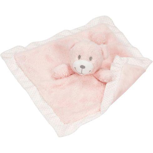 Mazlíček usínáček – růžový medvídek - Goki