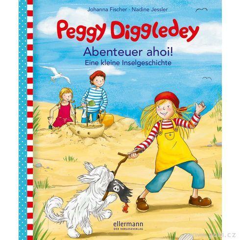 Malá knížka proděti Peggy Diggledey – Dobrodružství AHOJ! - Goki