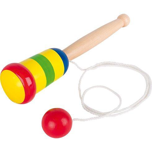 Chyť míček proužky, 19cm - Goki